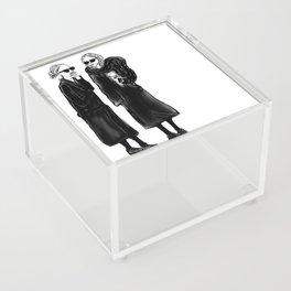 mary-kate n ashley 4 eva Acrylic Box