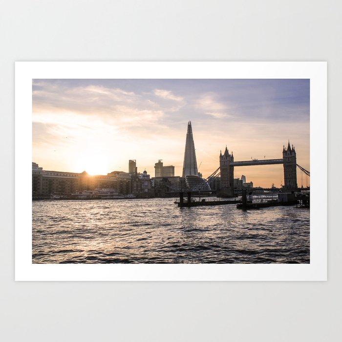 ArtWork London UK The Shard Photo Art Art Print