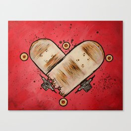 Stuntwood Love Canvas Print