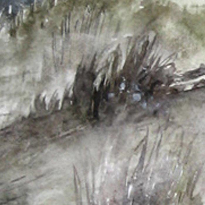 Cold seashore grass Leggings
