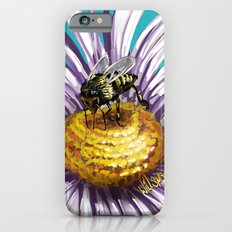 Wasp on flower 3 iPhone 6s Slim Case