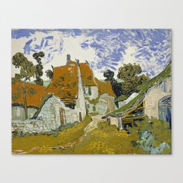 Vincent Van Gogh Street In Auvers-Sur-Oise Canvas Print