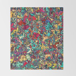 Abstract R4 Throw Blanket