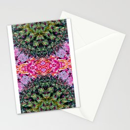 Killer Cacti - Exploring Nature's Patterns Stationery Cards