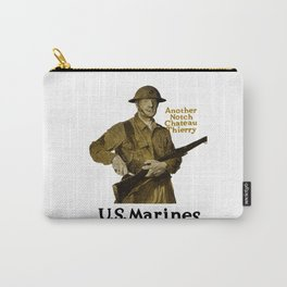Marines -- Another Notch Chateau Thierry Carry-All Pouch