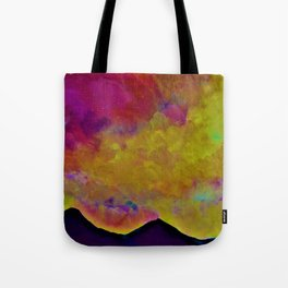 SPRING SKY OVER MOURNE MOUNTAINS Tote Bag