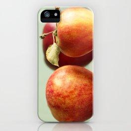Autumn Apples iPhone Case
