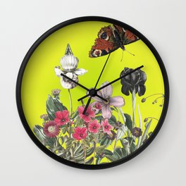 Be still and wonder Wall Clock