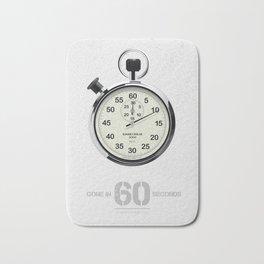 Gone in 60 Seconds - Alternative Movie Poster Bath Mat