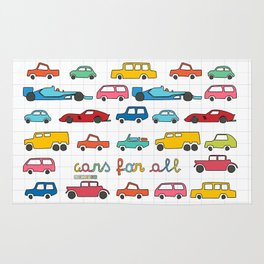 Cars for all Rug