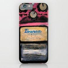 Ibanez AD-9 Analog Delay Guitar Pedal Acrylic Painting  iPhone 6 Slim Case