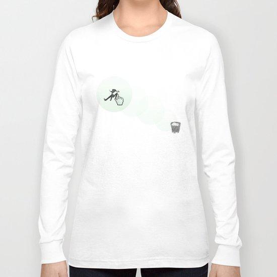 trash man Long Sleeve T-shirt
