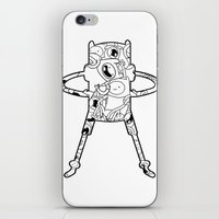 finn iPhone & iPod Skins featuring Finn  by 8BOMB