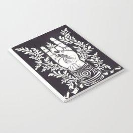 Mano Cornuto Notebook