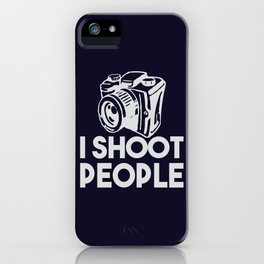 The photographer weapon iPhone Case