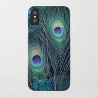 peacock iPhone & iPod Cases featuring Peacock by KunstFabrik_StaticMovement Manu Jobst
