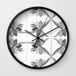 Nature Print Wall Clock