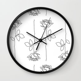 Thorns Wall Clock