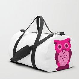 Wise Magenta Owl Duffle Bag