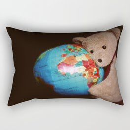 """""""What the world needs now is love..."""" Rectangular Pillow"""