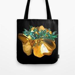 Fractal Christmas Bells Tote Bag