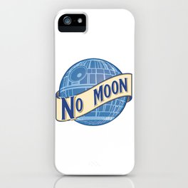 No Moon Brewery iPhone Case