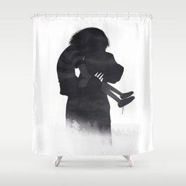 I'll Bear You Home Shower Curtain