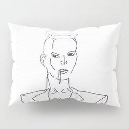 Grace Jones Smoking Pillow Sham