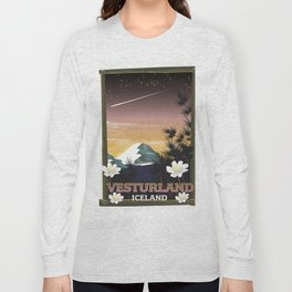 Vesturland Iceland Long Sleeve T-shirt