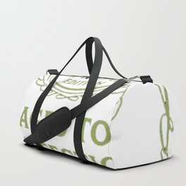 Green-Vintage-Limited-1993-Edition---24th-Birthday-Gift Duffle Bag