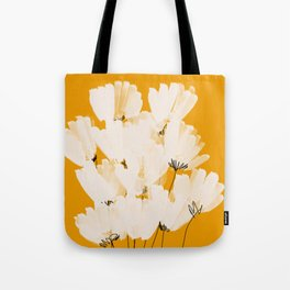 Flowers In Tangerine Tote Bag