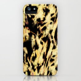 Animals passing by iPhone Case
