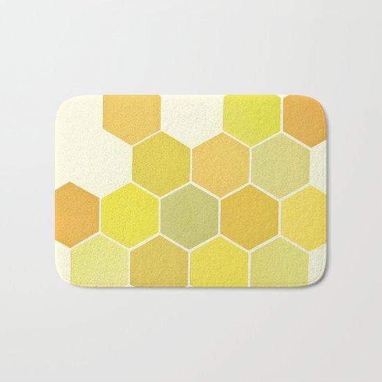 Shades of Yellow Bath Mat