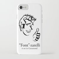 font iPhone & iPod Cases featuring 'Font'-zarelli by Christian Bailey