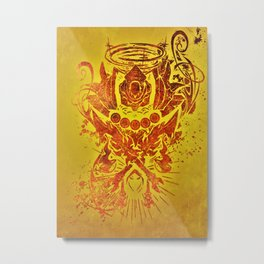 Warcraft *Rogue Crest* Metal Print