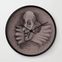 bill Wall Clocks featuring Bill by chadizms