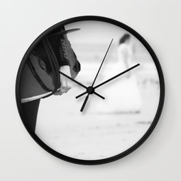 catch a wave and love Wall Clock