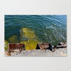 Break Water Canvas Print