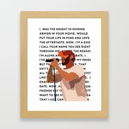 Jon Bellion Songs Framed Art Print