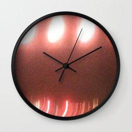 Abstracte Light Art in the Dark 20 Wall Clock