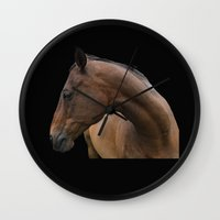 danny ivan Wall Clocks featuring Danny by anipani