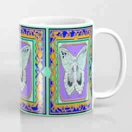 Southwestern Styalized Moth Art Design  Coffee Mug