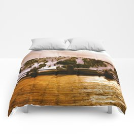 Light in the Mountains Comforters