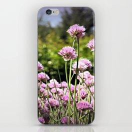 Chives & Bokeh iPhone Skin