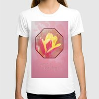 tulip T-shirts featuring Tulip  by LoRo  Art & Pictures