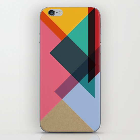 Triangles (Part 2) iPhone & iPod Skin