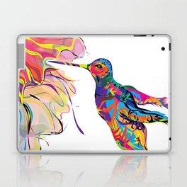 """Humhumbird"" Paulette Lust's whimsical, colorful, contemporary, original, fun, art.  Laptop & iPad Skin"