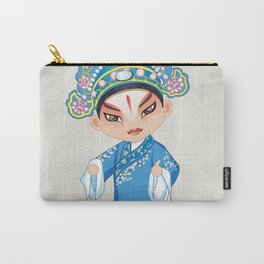 Beijing Opera Character LiuMengMei Carry-All Pouch