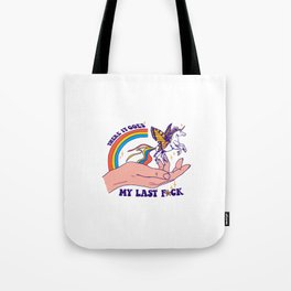 There It Goes Tote Bag