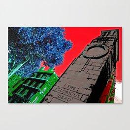 Cenotaph Canvas Print